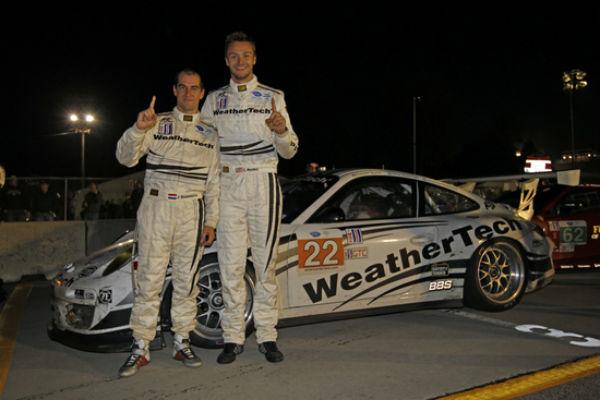 weathertech racing wins alms gtc championship at petit le