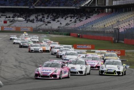 Thomas Preining wins at Hockenheim and is crowned Porsche Carrera Cup Deutschlandchampion
