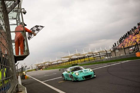 Porsche entries end 2018 China GT Championship with a number of fine podiums atShanghai
