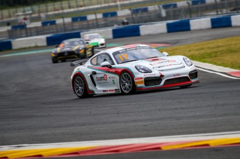 Points finishes for Porsche entries in Blancpain GT Series Asia finale atNingbo