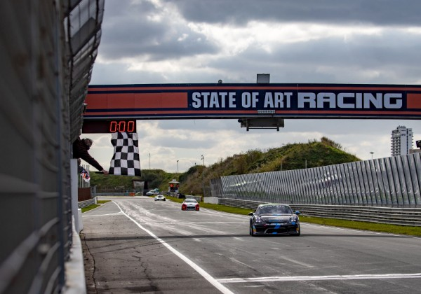 Rob Severs takes race victory and GT4 Central European Cup championship title in Zandvoort