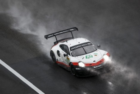 Second and third in Shanghai for the Porsche GTTeam