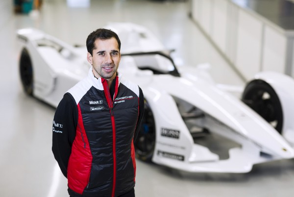 Porsche announces first driver for electric racing series: Neel Jani switching to the cockpit of a Formula E car