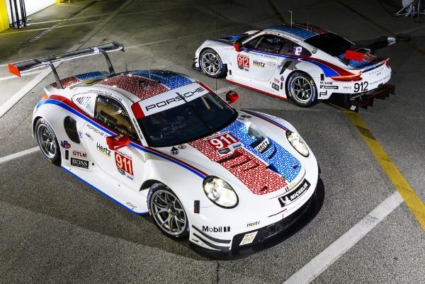 Porsche flies the Brumos Racing colours at Daytona and Sebring