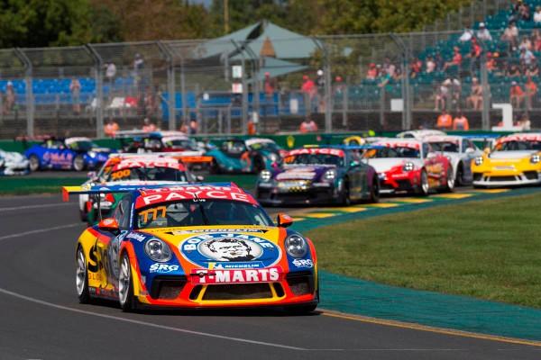 Redemption for Wood, Lago tops Porsche Carrera Cup Australia Pro-Am at Albert Park