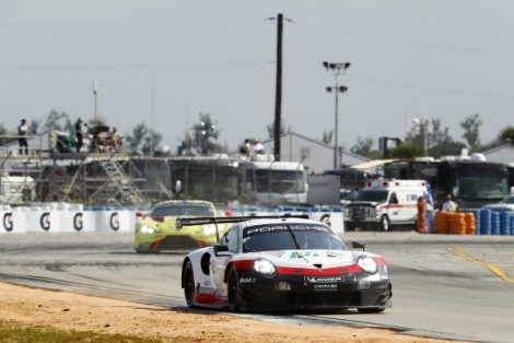 Porsche At Super Sebring 2019Video