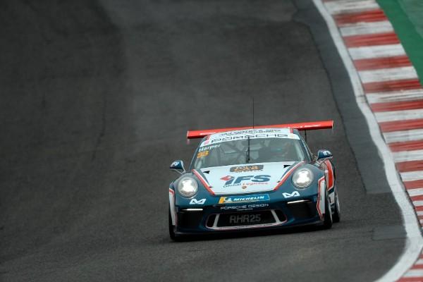 Porsche GB Junior Harper takes early Carrera Cup GB lead into Donington Park