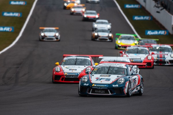 Porsche Carrera Cup GB Supports WEC for blue riband weekend