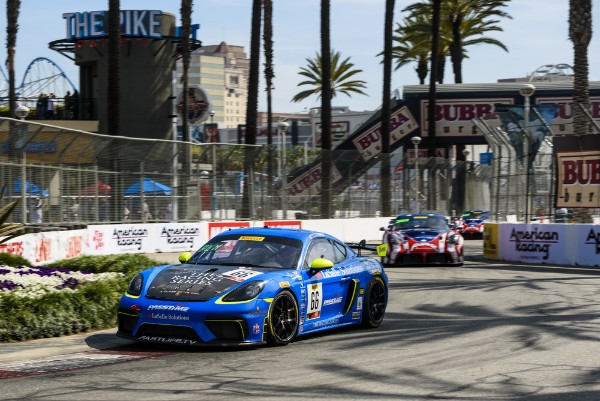 TRG On Top: Pumpelly Leads Pole to Checker in SRO GT4 at Long Beach