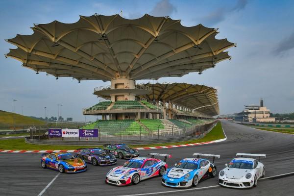 Porsche scores double GTM victory in Sepang Thailand Super Series opener as the new Porsche Sprint Trophy Thailand launches