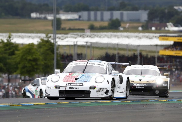Strong start for Porsche at the 24 Hours of Le Mans