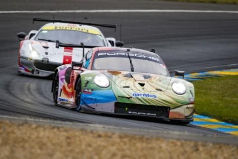 Porsche customer team Project 1 declared class winners at LeMans