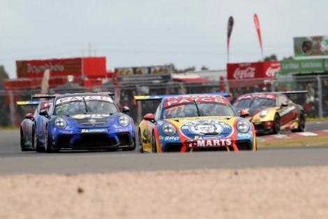 Love, Talbot star in Porsche Carrera Cup Australia Saturday thriller at The Bend MotorsportPark