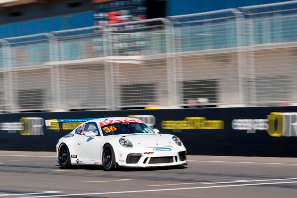 Murray continues to pace Porsche Carrera Cup Australia field with Practice record at The Bend