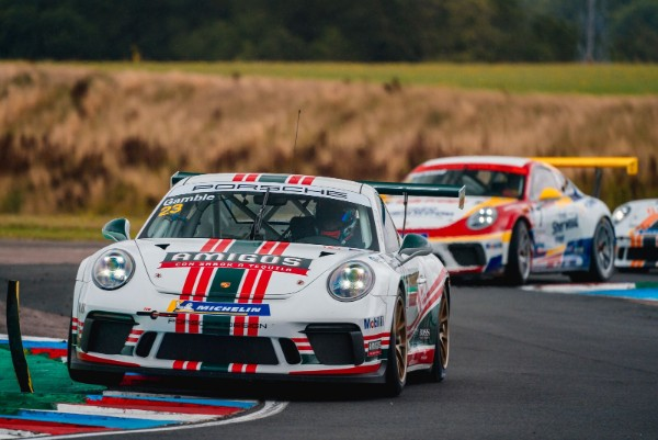 Gamble on form as Porsche Carrera Cup GB returns to Thruxton