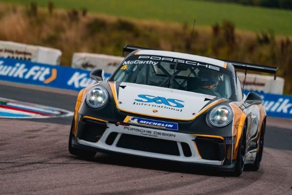 Jack McCarthy Fights Back To Porsche Carrera Cup GB Podium Finish At Thruxton