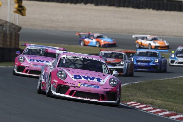 Perfect Porsche Carrera Cup Deutschland weekend for Ammermüller at Zandvoort