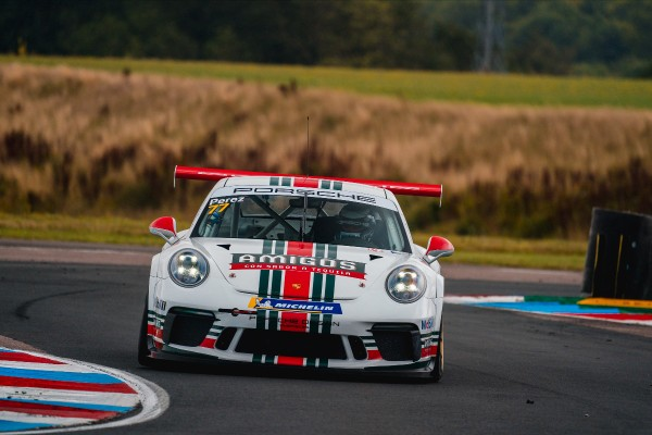 Pair of fourth-place finishes for Seb Perez on Porsche Carrera Cup GB return to Thruxton