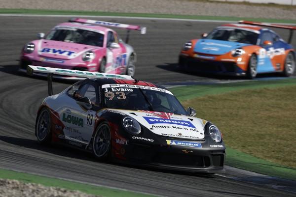 Jaxon Evans seals Rookie classification in Porsche Carrera Cup Deutschland