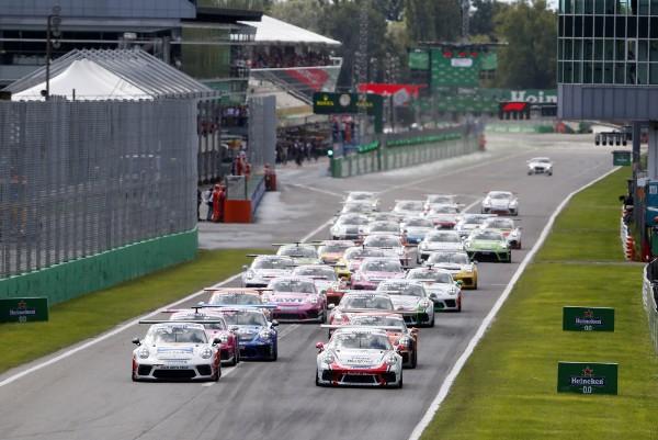 Larry ten Voorde celebrates first Porsche Supercup victory at Monza