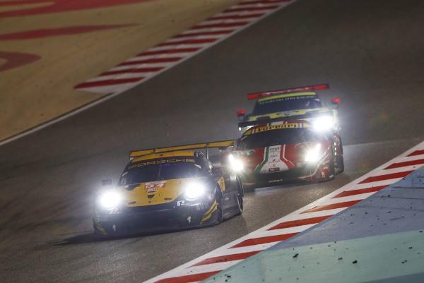 Porsche customer team Project 1 celebrates first win of the FIA WEC season
