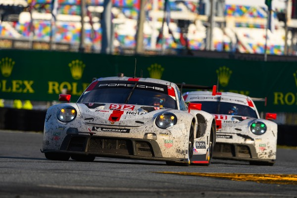 Porsche 911 RSR celebrates successful USA premiere with Daytona double podium