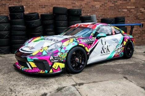 Cameron Hill unveils 2020 livery ahead of Porsche Carrera Cup Australia seasonopener