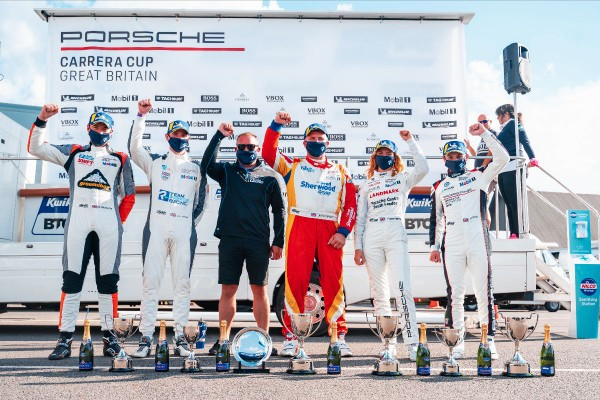 Outstanding Porsche Carrera Cup GB result caps superb weekend for Team Parker Racing