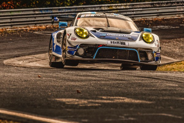 KCMG competitive but unfortunate at the Nürburgring 24 Hours
