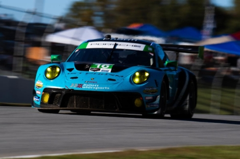 Wright Motorsports IMSA GTD Championship Battle Heads toCalifornia