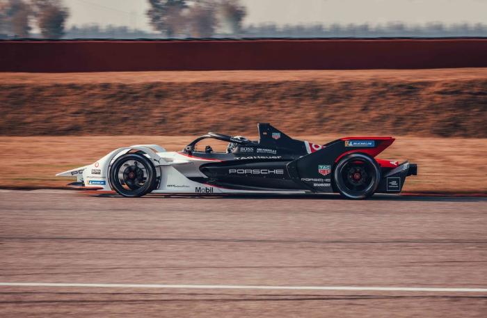 Final test for TAG Heuer Porsche Formula E Team ahead of season start in Chile