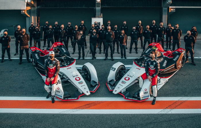 The Porsche Formula E Team is well equipped for its second season