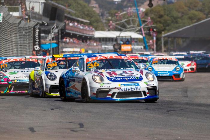 Porsche celebrates contributions to Carrera Cup Australia via Hall of Fame Award