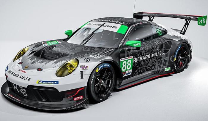 Legge, Nielsen to Finish IMSA Season in No. 88 Team Hardpoint EBM Porsche